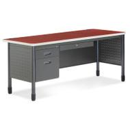 OFM Mesa Series Steel Single Pedestal Executive Desk 67 - 66366