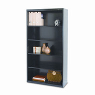 "Tennsco Bookcase 66"" 5-Shelf Metal - TNN-B-66"
