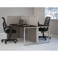 "BBF Bush Easy Office Straight Desk 60"" 2-Person - EOD460MR-03K"