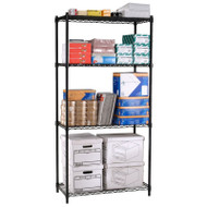"OFM Heavy Duty 4 Shelf Storage Unit  72""H x 18""D x 36""W - S367218"