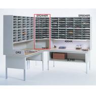 """Mayline Mailflow-To-Go Corner Table 30""""W - TB30"""