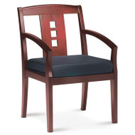 Mayline Mercado Wood Guest or Reception Chair (pack of 2 chairs) - VSC2A