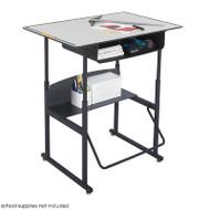 Safco AlphaBetter Desk with Book Box - 1209GR