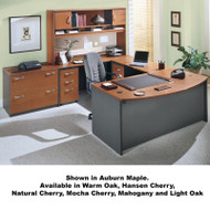 BBF Bush Series C Package Executive U-Shaped Bowfront Desk - SC16