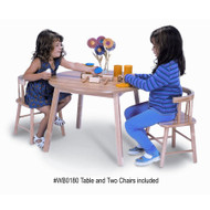 Whitney Brothers Table and Two Chair Set - WB0180