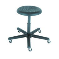 Cramer Rhino Round Stool Desk-Height Hand Activation - RROD1