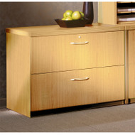 """* MONTHLY SPECIAL! Mayline Aberdeen Lateral File Cabinet 36"""" Free Standing Maple - AFLF36-LMA"""