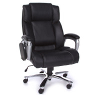 OFM ORO Series Executive Big and Tall Conference Chair with Tablet - ORO200