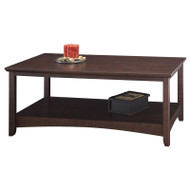 Bush Buena Vista Coffee Table in Cherry Finish  - MY13807-03