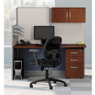 Bush Office-in-an-Hour Straight Desk Workstation Package - WC36492-03STGK