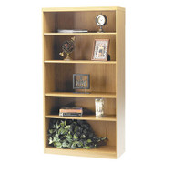 * MONTHLY SPECIAL! Mayline Aberdeen Bookcase 5-Shelf Maple - AB5S36-LMA