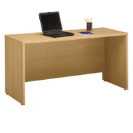 "BBF Bush Series C Credenza Desk in Light Oak 60""W x 24""D - WC60361"