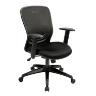 Eurotech by Raynor Tetra Mesh Back Chair - MF272BLK