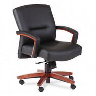 HON 5000 Series Park Avenue Collection Executive Mid Back Vinyl Chair, Henna Cherry -  5002JEE11