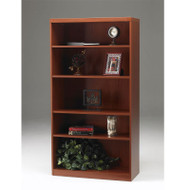* MONTHLY SPECIAL! Mayline Aberdeen Bookcase 5-Shelf Cherry Finish - AB5S36-LCR