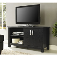 "Walker Edison Castillo 44"" TV Console, Black - W44COSBL"