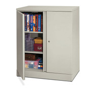 Basyx by HON Easy-to-Assemble Steel Storage Cabinet 42 3/4 High - C184236