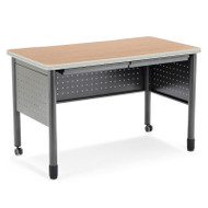 "OFM Mesa Series Steel Desk with 2 Utility Drawers 28""  x 55"" -  66140"