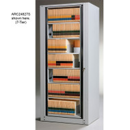 Mayline Arc Rotary File  8-Tier Complete 37.25W X 94H X 26.25D - ARC24938S