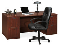 "* MONTHLY SPECIAL! Basyx BL Laminate Series 72"" Executive  Desk Package - BasyxPackageC"