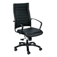 Eurotech by Raynor Europa Leather High-Back Chair - LE111TNM