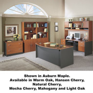 BBF Bush Series C Package Executive Bowfront Desk - SC6A