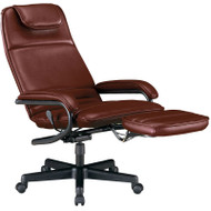 OFM Power Rest Executive Recliner Burgundy - 680BY