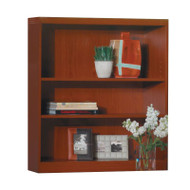 * MONTHLY SPECIAL! Mayline Aberdeen Bookcase 3-Shelf Cherry Finish - AB3S36-LCR