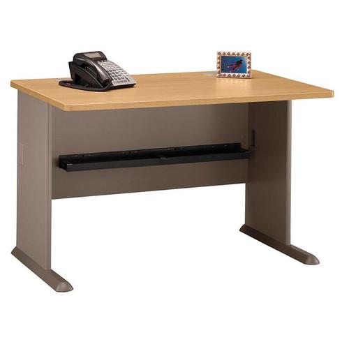 Bush WC64348 Series A Advantage 48 Desk Light Oak Free Shipping