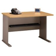 """BBF Bush Series A Desk in Light Oak 48""""W - WC64348"""