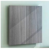 Mayline Medina Laminate Presentation Board Gray Steel - MNPB-LGS