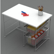 Atlantic Youth Activity Desk In White - 33935711