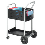"Safco Scoot Mail Cart, 20""D - 5238BL"