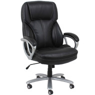 OFM Essentials Big and Tall Leather Executive Chair - ESS-202