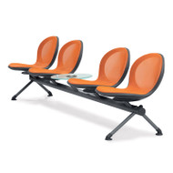 OFM NET Series Beam Seating 4 Seats and 1 Table - NB-5G