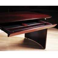 Mayline Napoli Veneer Center Desk Drawer ASSEMBLED Mahogany - NCD