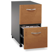 BBF Bush Series C Mobile File Cabinet 2-Drawer Natural Cherry Assembled - WC72452SU
