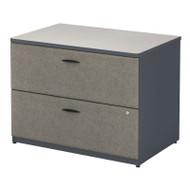 BBF Bush Series A Lateral File Cabinet Slate - WC84854P
