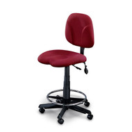 Mayline Ortho Swivel Task Stool Chair - 4005AG