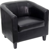 Flash Furniture Black Office Guest Chair / Reception Chair - BT-873-BK-GG