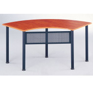 CLEARANCE! Mayline Encounter Crescent Meeting Table 67W x 24D - 2448CE