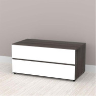 "Nexera Allure Entertainment Collection 36"" Storage Module - 2 Drawers - 220433"
