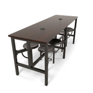 OFM Endure Series Standing Height Table with Seats - 9008