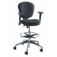 Safco Metro Extended Height Task Stool Chair with Arms 3442-3495
