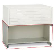 Mayline C-File Bookshelf Base for Flat File 24 x 36 Sheet, 40.75W x 28.5D x 20H - 7877