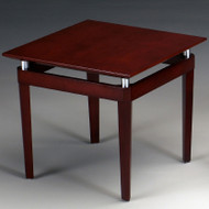 Mayline Napoli Veneer End Table Sierra Cherry - NTS-CRY