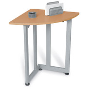 CLEARANCE! OFM Quarter Round Table/Telephone Stand - 55107