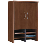 "BBF Bush Series C Cabinet 30"" Hutch Hansen Cherry - WC24497"