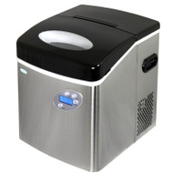 NewAir Portable Ice Maker Stainless Steel Large - AI-215SS