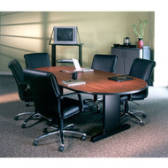 Mayline CSII Conference Table Racetrack with Premier Legs 72W x 36D x 29H - R73VP